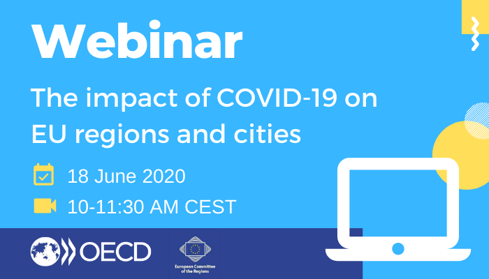 Joint CoR & OECD webinar: the impact of COVID-19 on EU regions and cities