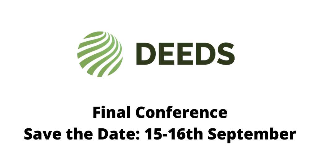 DEEDS project final conference