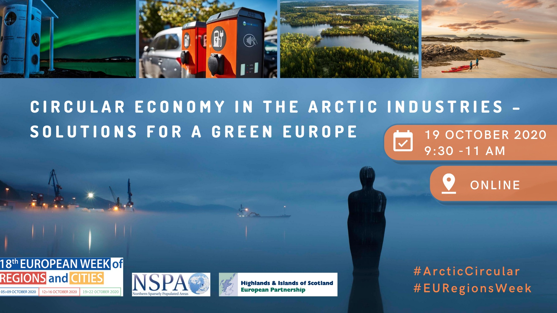 Circular economy in the Artic industries: Solutions for a green Europe