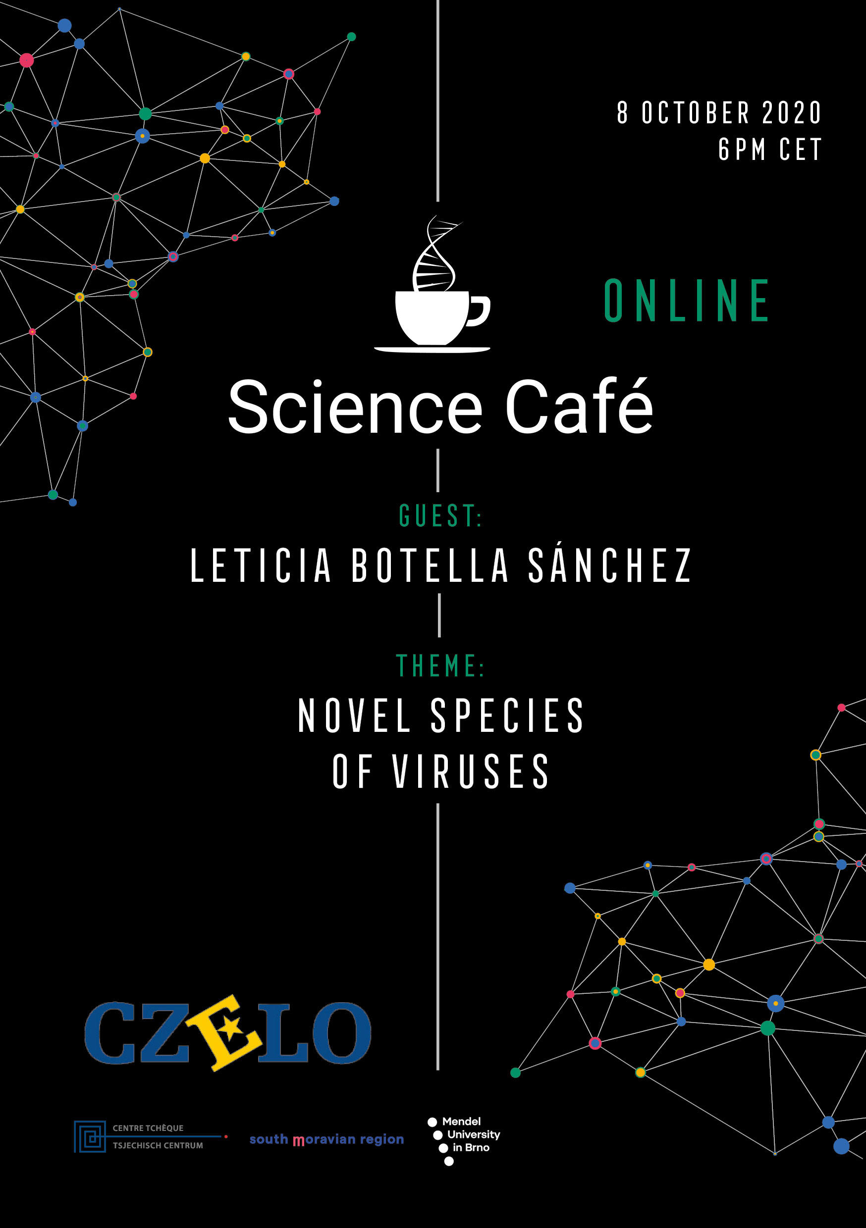 Science Café with Leticia Botella Sánchez
