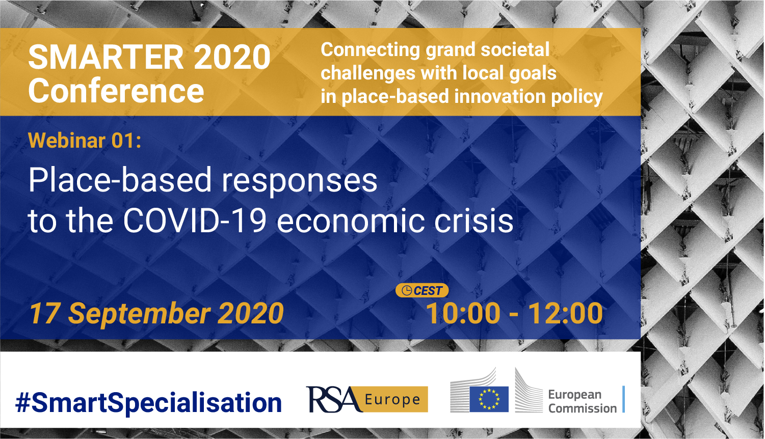 Smart 2020 Conference: Place-based responses to the COVID-19 economic crisis