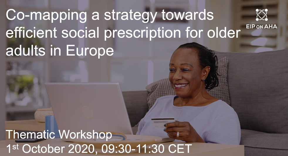 Thematic workshop series: Co-mapping a strategy towards efficient social prescription for older adults in Europe