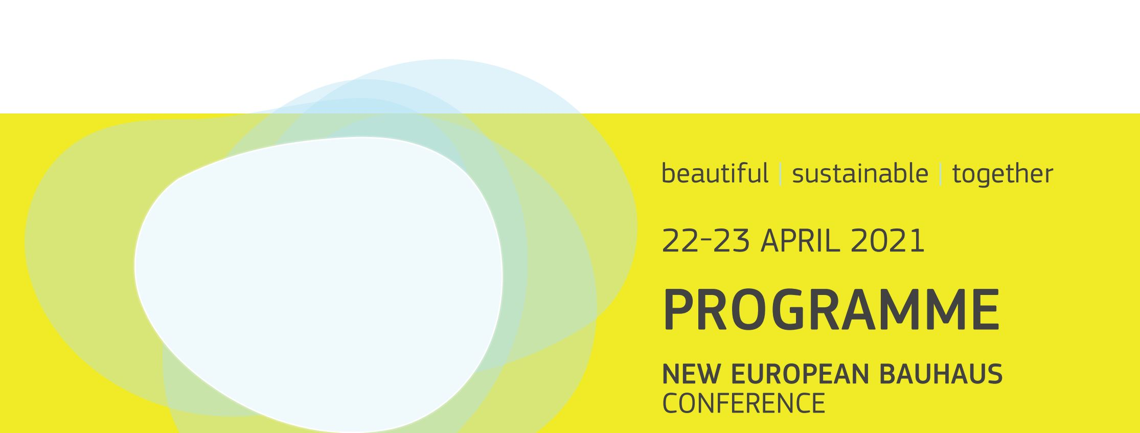 The New European Bauhaus conference