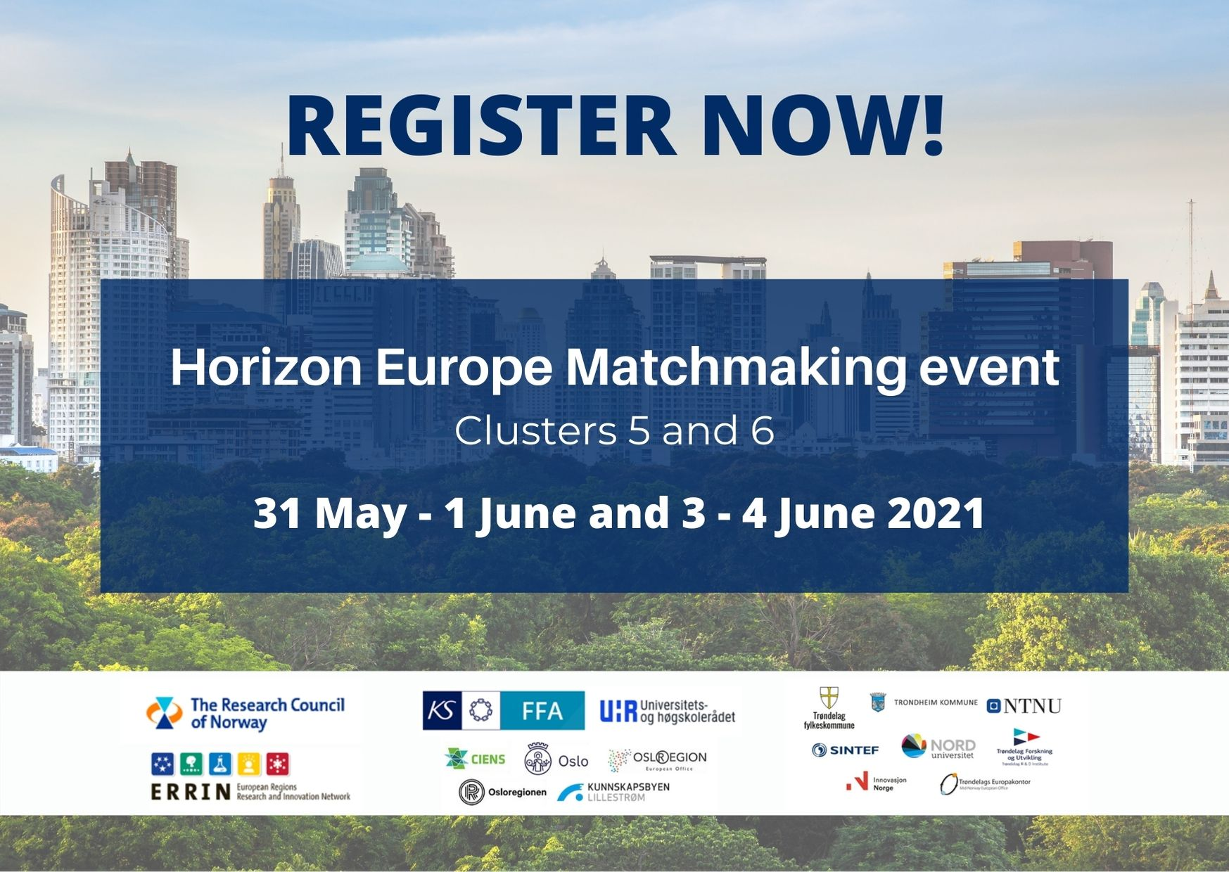 Horizon Europe Matchmaking event: Clusters 5 and 6 (part I)