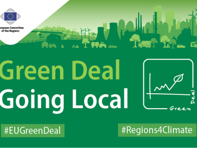 CoR launches working group: Green Deal Going Local