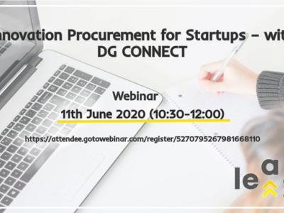 Innovation Procurement for Startups with DG CONNECT