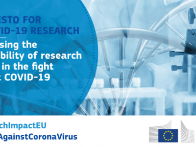 Commission manifesto to ensure accessiblity of EU-funded coronavirus research results