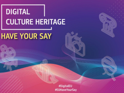 Consultation on digital technologies for the cultural heritage sector