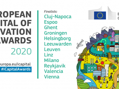 Finalists announced for European Capital of Innovation