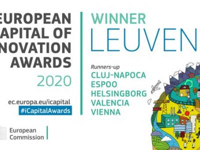 Leuven announced as European Capital of Innovation 2020
