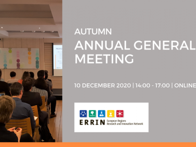 ERRIN Autumn Annual General Meeting – registration open!
