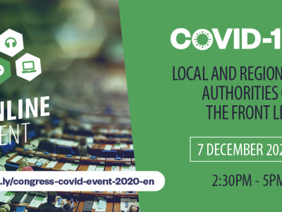 COVID-19: Local and regional authorities on the frontline