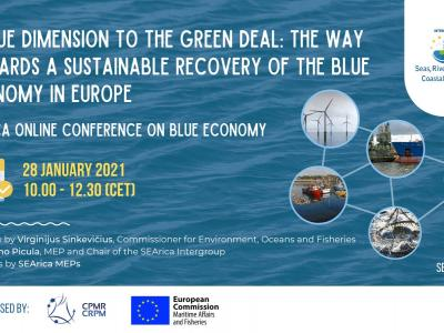 A blue dimension to the Green Deal: the way towards a sustainable recovery of the blue economy in Europe