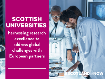 Scotland's universities collaborating with EU networks
