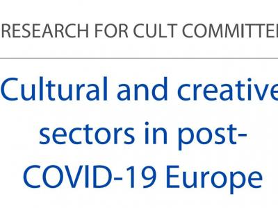 Study on Cultural and creative sectors in post-COVID-19 Europe