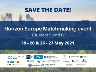 Horizon Europe Matchmaking event: Clusters 5 and 6