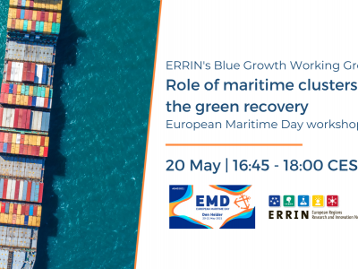 Role of maritime clusters in the green recovery: Blue Growth WG workshop at EMD 2021